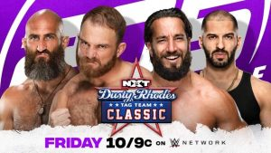 Dusty Classic Matches on tonight's 205 Live