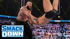 SmackDown viewership down for Royal Rumble go-home show