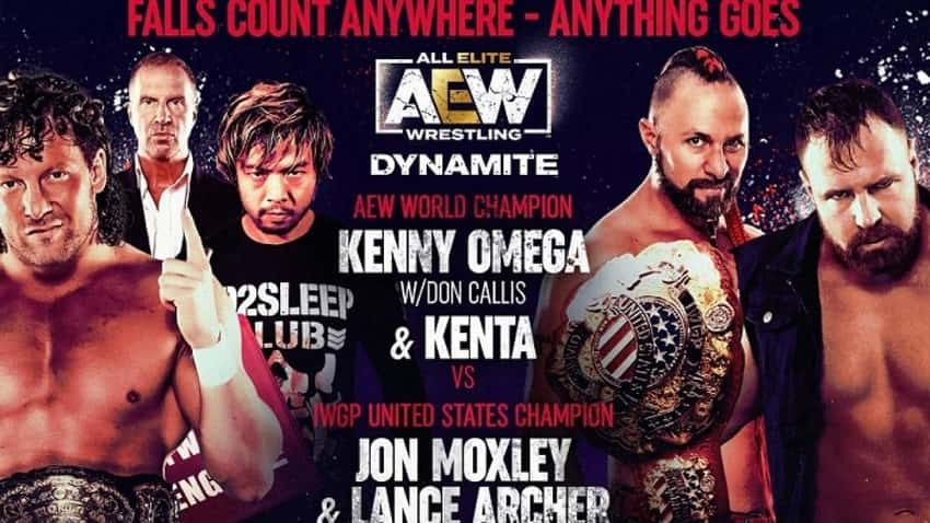 AEW Dynamite Main Event now available on NJPW World