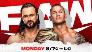 McIntyre vs. Orton set for Monday Night Raw